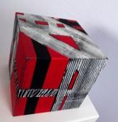 cube 20 II, acryl auf mdf-holz, 20x20x20cm, 2013