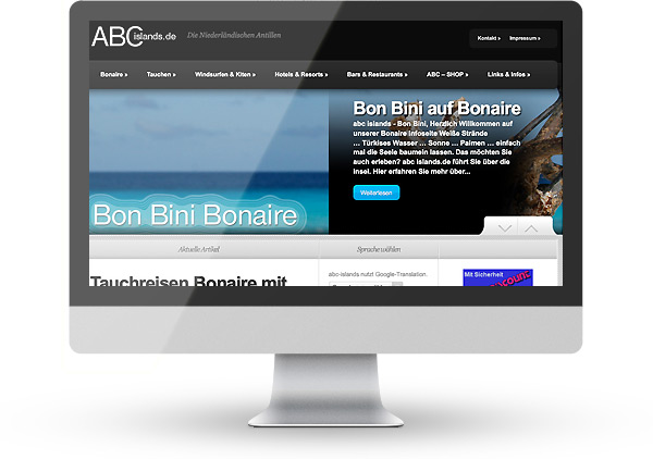 WordPress - ABC Islands