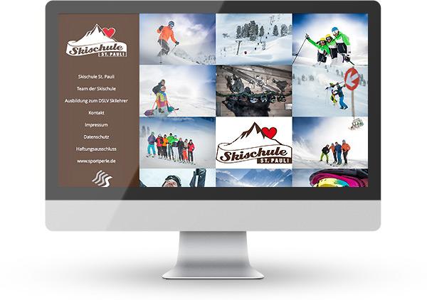 WordPress Skischule St. Pauli