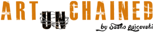 Logo Art Unchained - Künstler Sasko Rajcevski