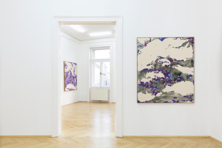 Worlds Beneath, 2018, Installation shot 8, Nathalie Halgand Gallery, Vienna, Photo by Julian Mullan
