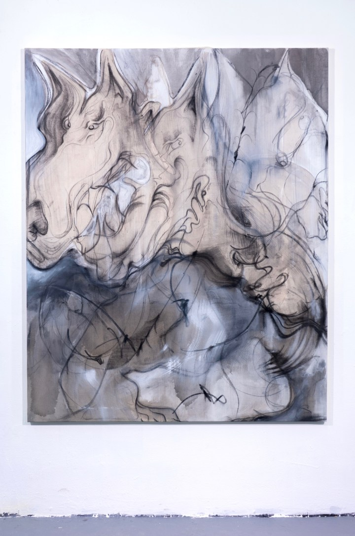 cloud dogz ( 160 x 130 cm)