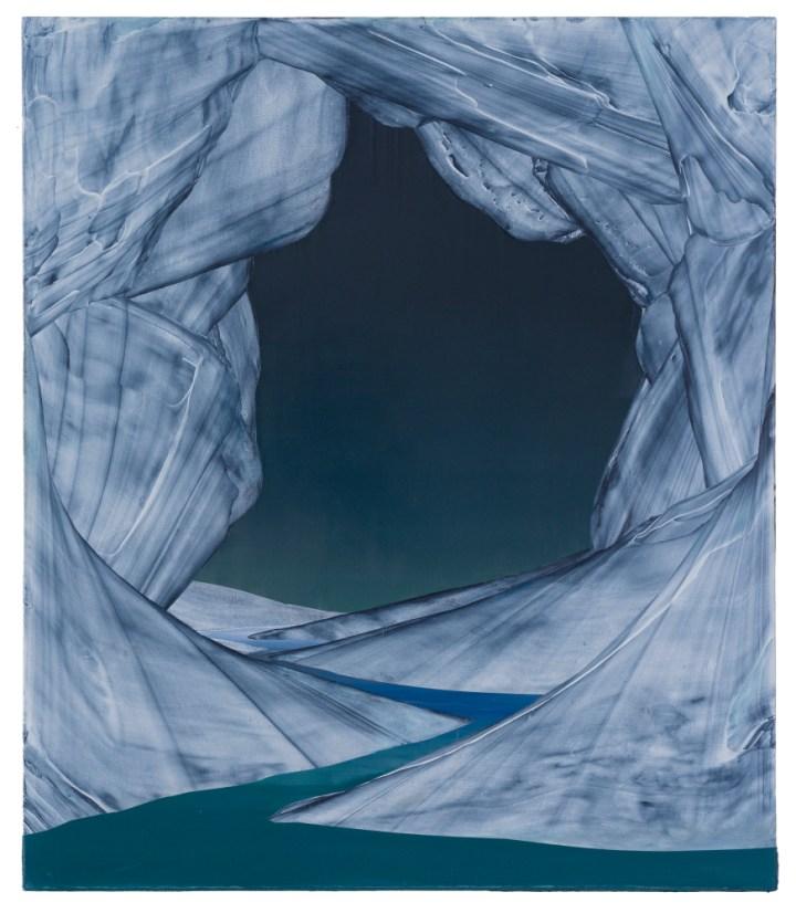 David Borgmann, untitled (ST30), 150cm x 130cm, oil on linen, 2017