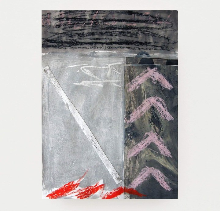 SPEAK LOUD mixed media on Fabriano paper 42x30cm