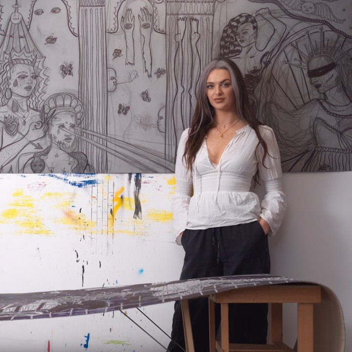 Alex Marshall Studio Portrait, 2019, Courtesy PUBLIC Gallery