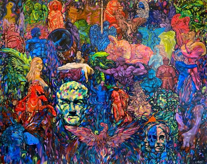 All and Everything Filo Sofi Arts Arthur Kwon Lee Hermitage 60 x 48