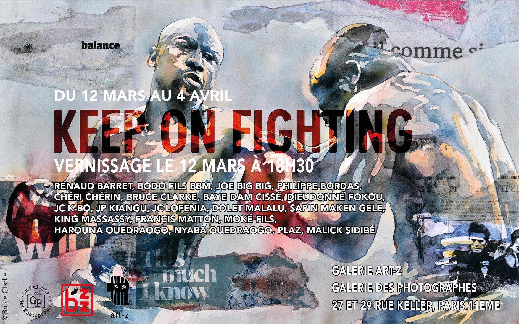 Keep on fighting Invitation