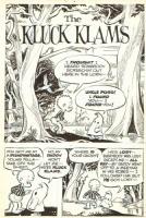 The Kluck Klams Pg. 1 Comic Art