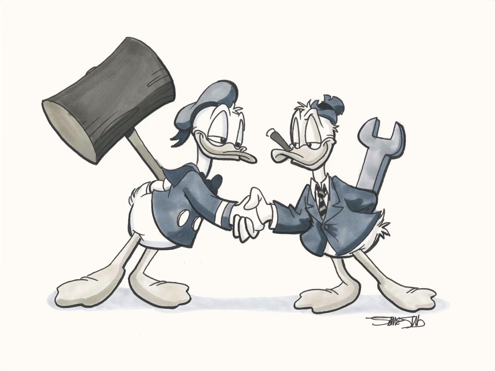 Image result for Donald vs Howard
