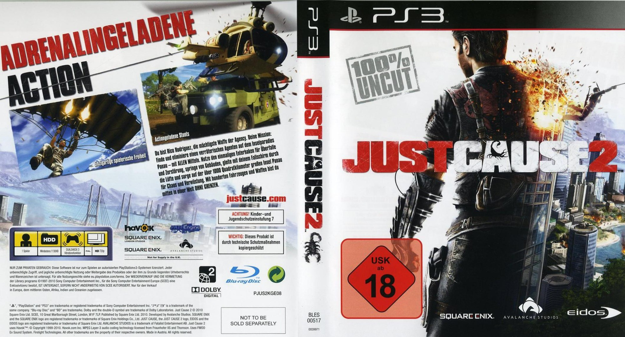 BLES00517 Just Cause 2