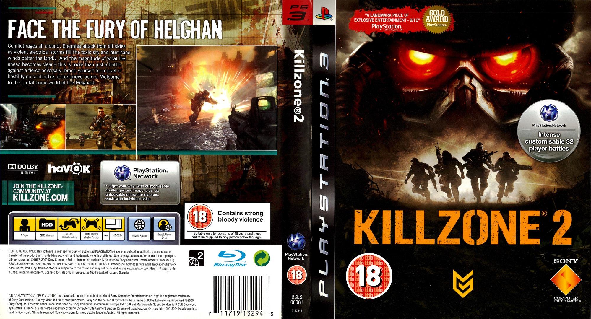 Bces00081 Killzone 2