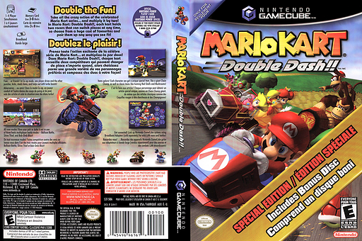 PM4E01 Mario Kart Double Dash Bonus Disc