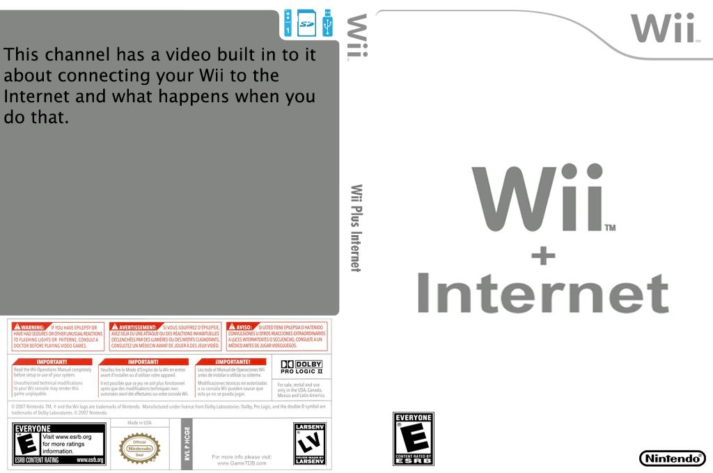 HCGE Wii Internet