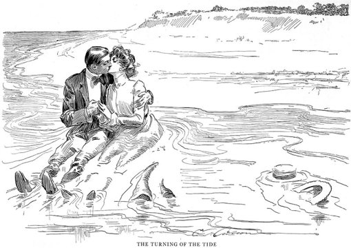 Charles_Dana_Gibson_Turning_Tide_1900