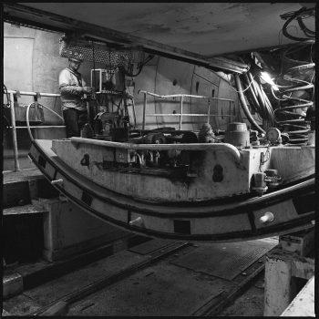 2017, Tunnel Boring Machine (TBM), Regional Connector Remote control vacuum hoist cable crane operation