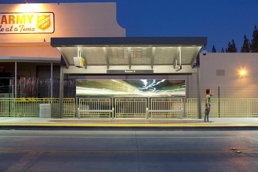 "Sam Erenberg, ""Liquid Light: Flowing Into The Future"" installation view"