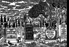 Art illustrates how East Los Angeles cemeteries honor their diverse histories and reflect the community's sense of family and soul.