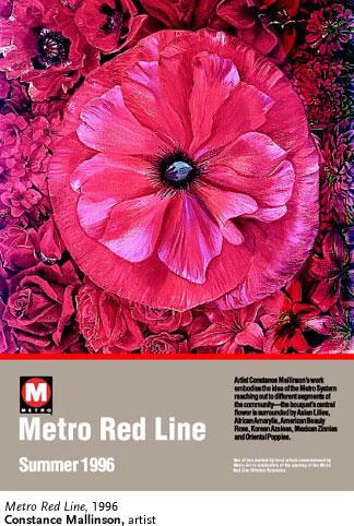 Constance Mallinson, Metro Red Line - Mallinson