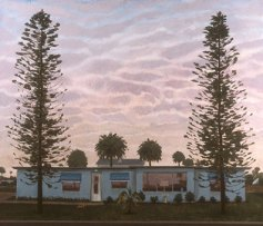"George C. Clark, ""Winter Afternoon, Cocoa Beach, Florida,"" acrylic on panel"
