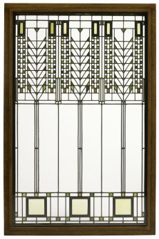 "Frank Lloyd Wright, Darwin D. Martin House, ""Tree of Life"" Window, 1904"