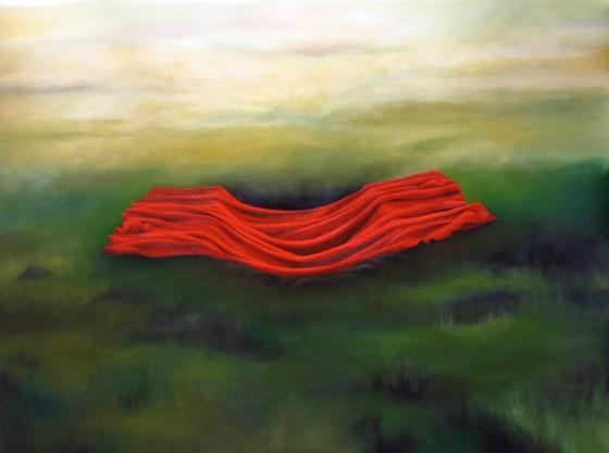 """""""The Ranger's Grave,"""" oil on linen, 2014"""