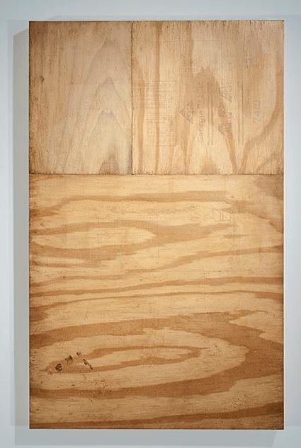 """Wood Glue Apophanie,"" oil on aluminum, 2014"