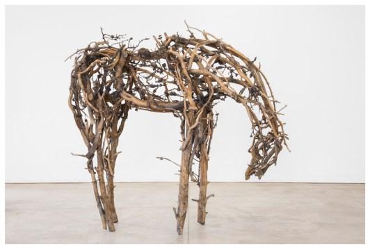 """""""Bristlecone,"""" cast bronze, 2014"""