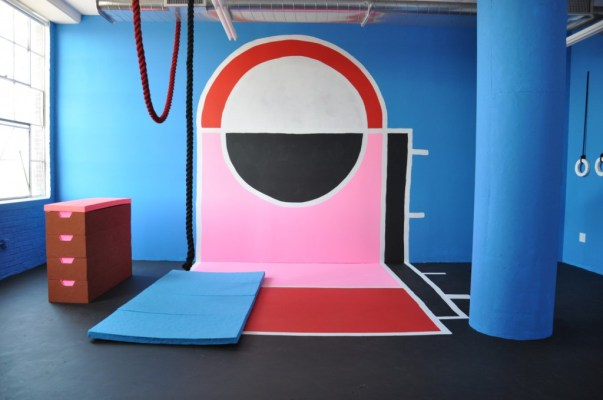 """""""Physical Education,"""" installation view, 2014. Photo by Mat Wilson"""