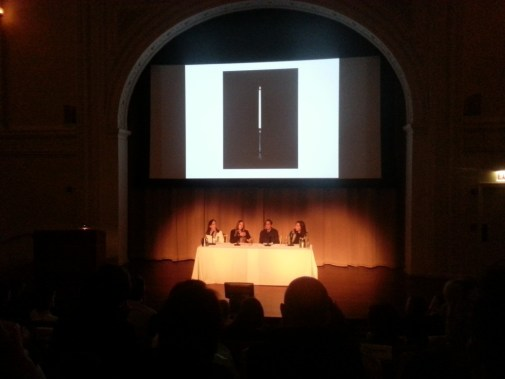 Wednesday night's panel discussion on Sarah Charlesworth at the Art Institute of Chicago