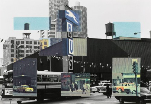 "Ken Josephson. ""Chicago,"" 1969.  The Art Institute of Chicago, Gift of the School of the Art Institute of Chicago"