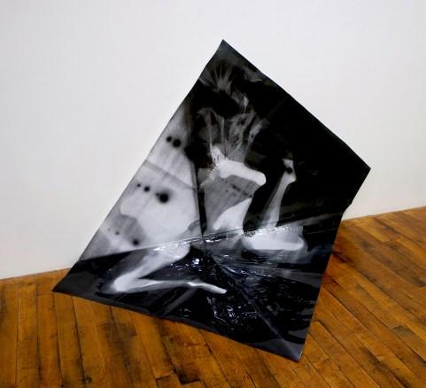 "Tatiana Kronberg. ""Untitled,"" 2015 photogram, 50"" x 60"""