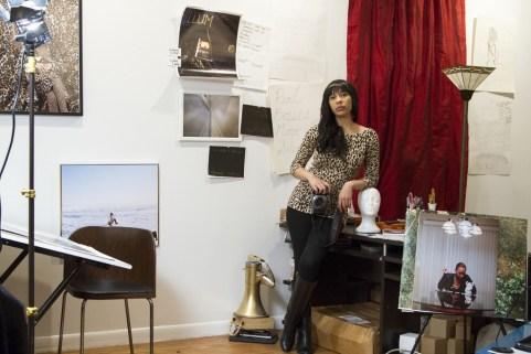 Rashayla Marie Brown in her studio