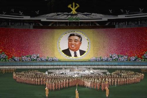 """Philippe Chancel. """"Arirang (North Korea) May Day Stadium, Pyongyang,"""" 2006."""