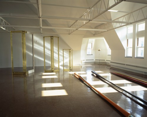 Isa Genzken, Everybody Needs at Least One Window, installation view at the Renaissance Society, 1992.