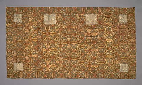 Kesa, Edo period (1603–1868), mid-/late 18th century. Japan. Gift of Gaylord Donnelley in memory of Frances Gaylord Smith.