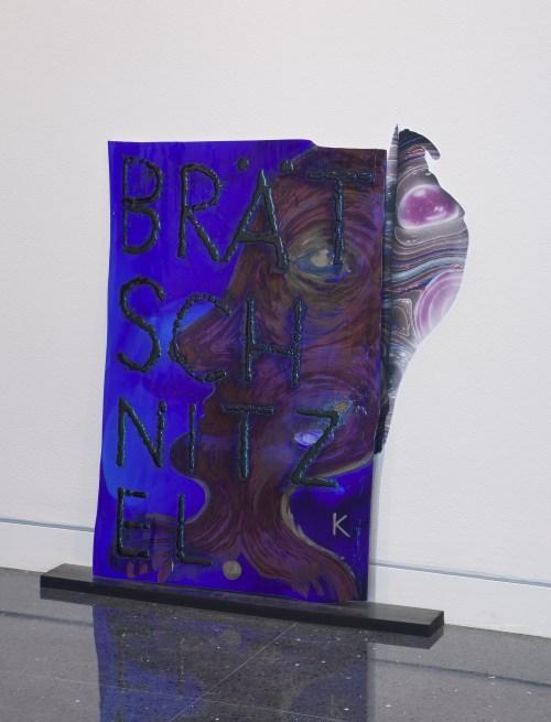 "Kerstin Brätsch. ""[PELE'S CURSE],"" Installation view, Arts Club of Chicago. /Photo: Michael Tropea."