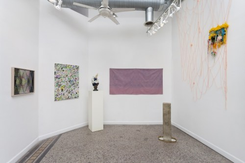 "Installation view of ""ROOTS"" at Roots & Culture, Winter 2016."