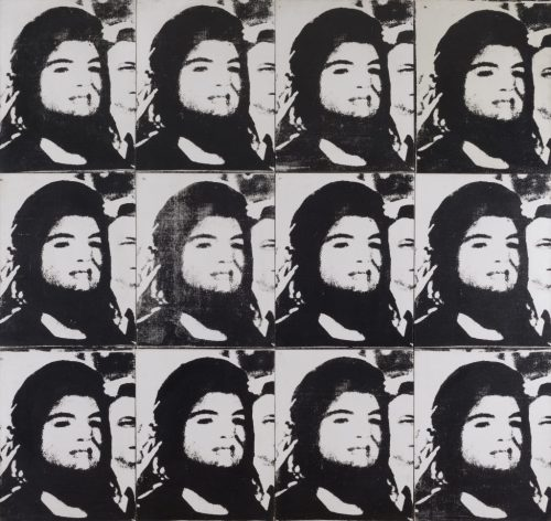 """Andy Warhol. """"Twelve Jackies,"""" 1964. © 2015 The Andy Warhol Foundation for the Visual Arts, Inc./Artists Rights Society (ARS), New York."""