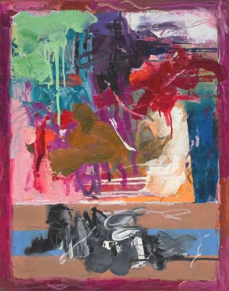 "Judith Goldsmith, ""Circo VI,"" Oil on canvas, 30 x 24 inches"