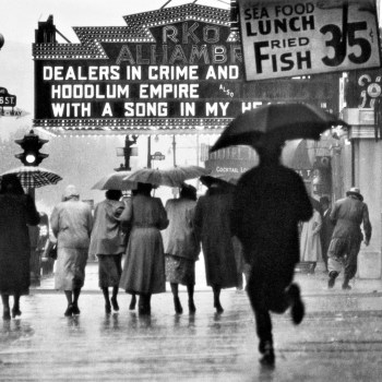 "Gordon Parks, ""Harlem Neighborhood, Harlem, New York,"" 1952."