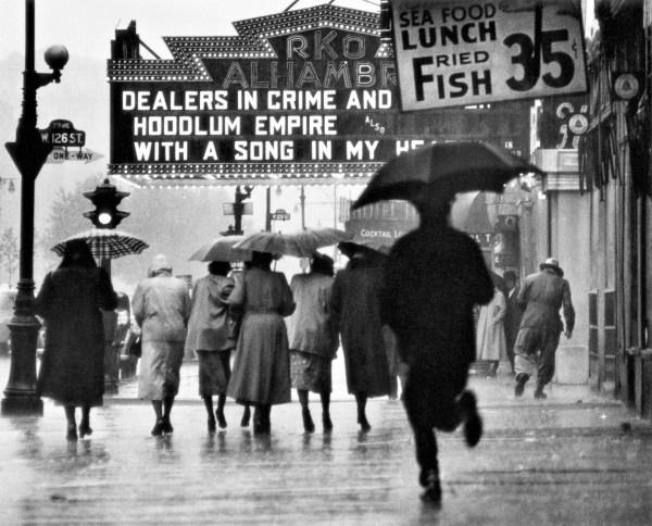 """Gordon Parks, """"Harlem Neighborhood, Harlem, New York,"""" 1952."""