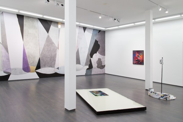 "Installation view of ""Gist & Gesture"" at Kavi Gupta Gallery, Summer 2016"