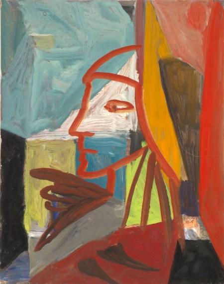 """William Eckhardt Kohler, """"Messenger,"""" 2015. Oil on linen, 14 x 11 inches"""