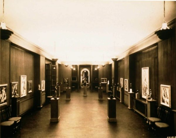 The Arts Club at its 410 North Michigan location in the Wrigley Building, 1924-36.