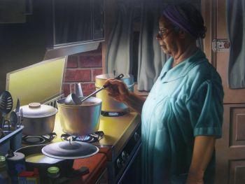 Skillful, Stunning Trompe L'oeil Painting