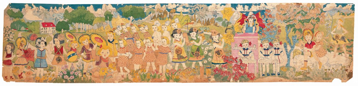 "Darger Never Disappoints: A Review of ""Betwixt-and-Between: Henry Darger's Vivian Girls"" at Intuit"