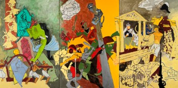 A Rare Glimpse at India's Picasso: A Review of M.F. Husain at the Art Institute of Chicago