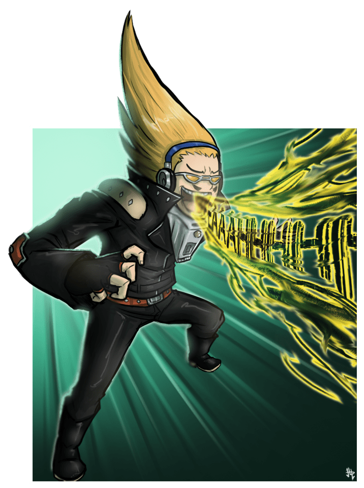 Present Mic BnHA Action Shot By Henlp On Newgrounds