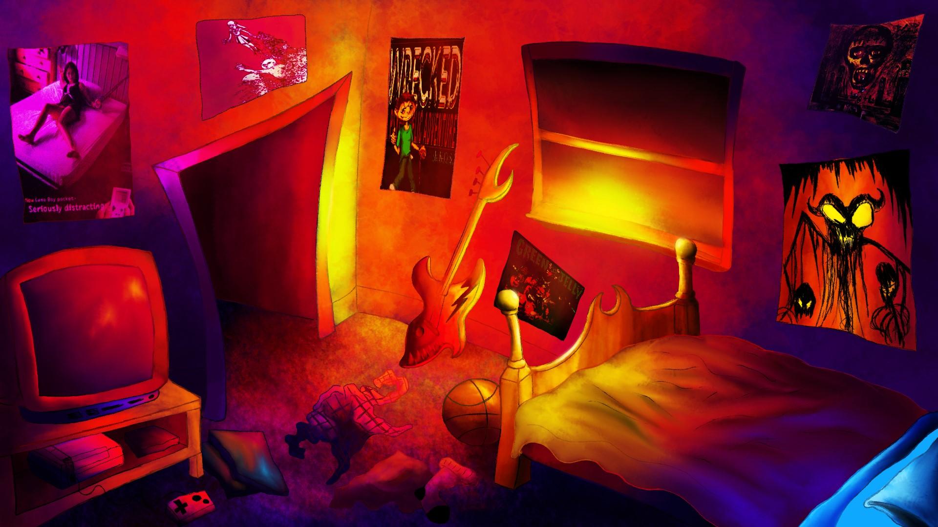 90's Room by SpencerXavier on Newgrounds on 90 Room  id=94940