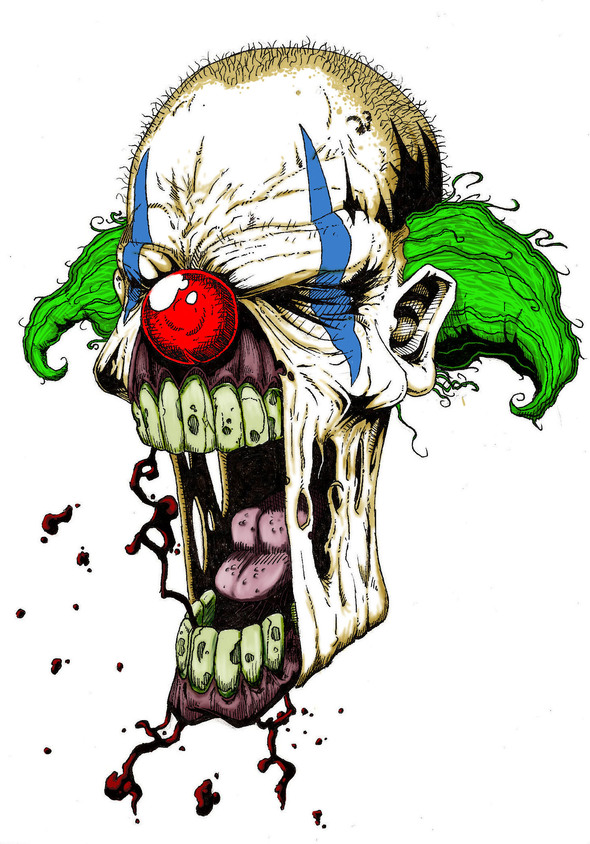 Zombie Clown By Corporatefilth On Newgrounds